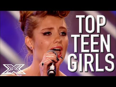 TOP TALENTED Teenagers Auditions for The  X Factor Worldwide   X Factor Global