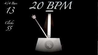 20 BPM Metronome