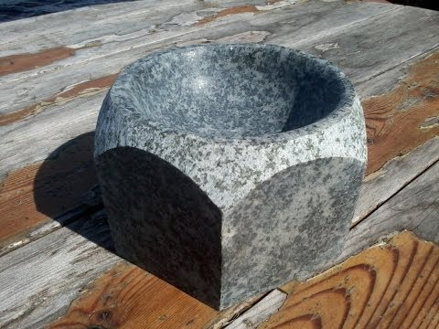 How To Carve A Stone Sink : How to Carve a Stone Sink in 4 Hours! Doovi