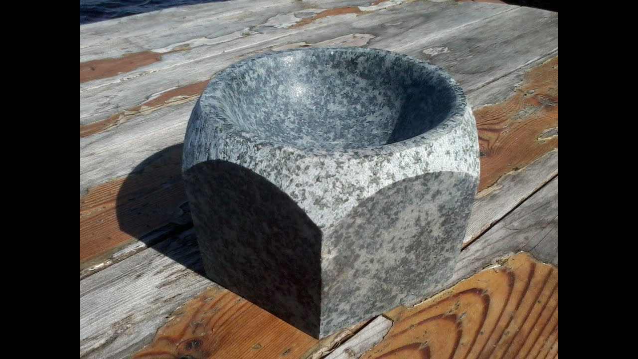 Stone Carving Granite Mortar And Pestle Jason Michael