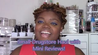 Small Drugstore Haul feat New Hard Candy Products!!