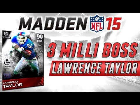 MUT 15 - 3 Million Coin Boss Lawrence Taylor & Steve Largent - Madden 15 Ultimate Team Pack Opening