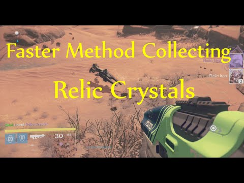 Destiny - ''Essential Elements'' Step 4 - Faster Method Collecting Relic Crystals (Mars)