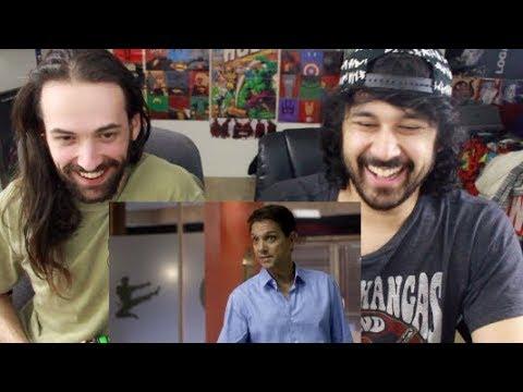First-Ever Footage of COBRA KAI - THE KARATE KID SAGA CONTINUES - REACTION!!!