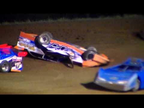 Dog Hollow Speedway - 5/29/15 Super Late Model Roll Over