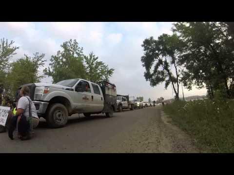 MICHIGAN TAR SANDS BLOCKADE August 25th 2014