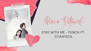 Video Stay with me Punch ft. Chanyeol Easy Piano Tutorial download MP3, 3GP, MP4, WEBM, AVI, FLV Januari 2018