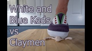 White and Blue Keds vs Claymen Crush