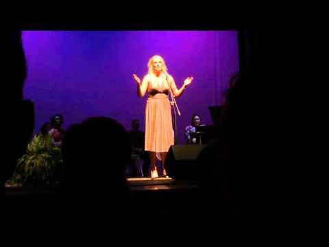 """""""Again"""" (Scott Alan) performed by Brittany Hogan Alomar"""