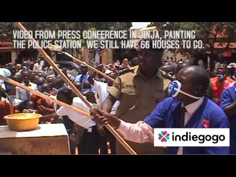 Painting The City Bright in JINJA, UGANDA