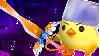 UGLIEST GOLD SWORD FOR TINY CHICKEN - Fantasy Smith VR Gameplay