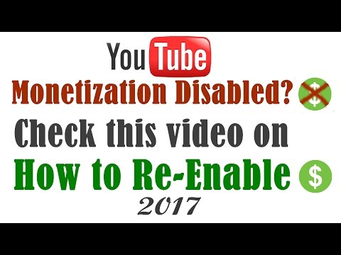 How to Enabled Youtube Monetization [Fix Disabled Problem] [Latest]- 2017 : To To Company