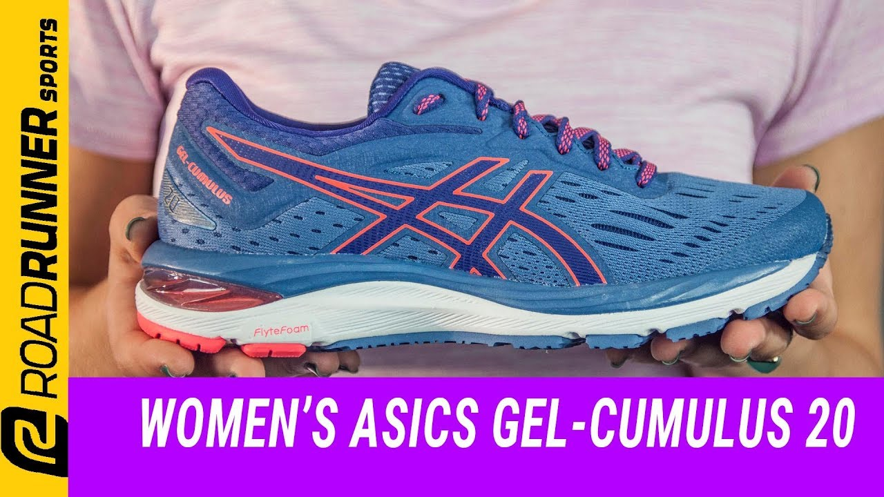 ad7bd253454b Women's ASICS GEL-Cumulus 20 | Fit Expert Review. Road Runner Sports