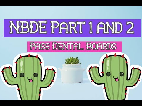 How to Pass Dental Boards NBDE Part 1 and 2, Study Materials