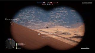 Battlefield 1 - 833 Meter Headshot, Longest Sniper Kill Shot (World Record on Xbox One)
