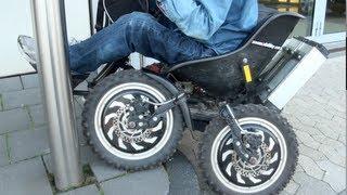Rollstuhl Zoom extreme cross electric drive