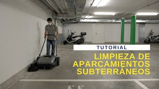 ESP No8 Limpieza de aparcamientos subterráneos