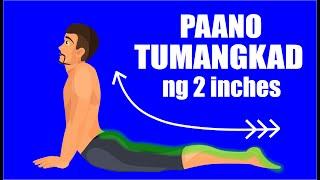 Paano TUMANGKAD: 10 Home Exercises Para Tumangkad Ng Mabilis