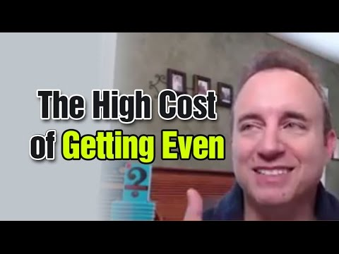 The High Cost of Getting Even #AskNoahStJohn Episode 83