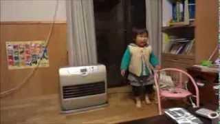 鈴木穂乃香さんです。1歳9ヶ月の時に撮影したものです。 楽しそうにダン...