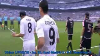 Liga de Fútbol Profesional - Jornada 1 - Real Madrid CF 3-2 Deportivo - Temporada 2009/2010
