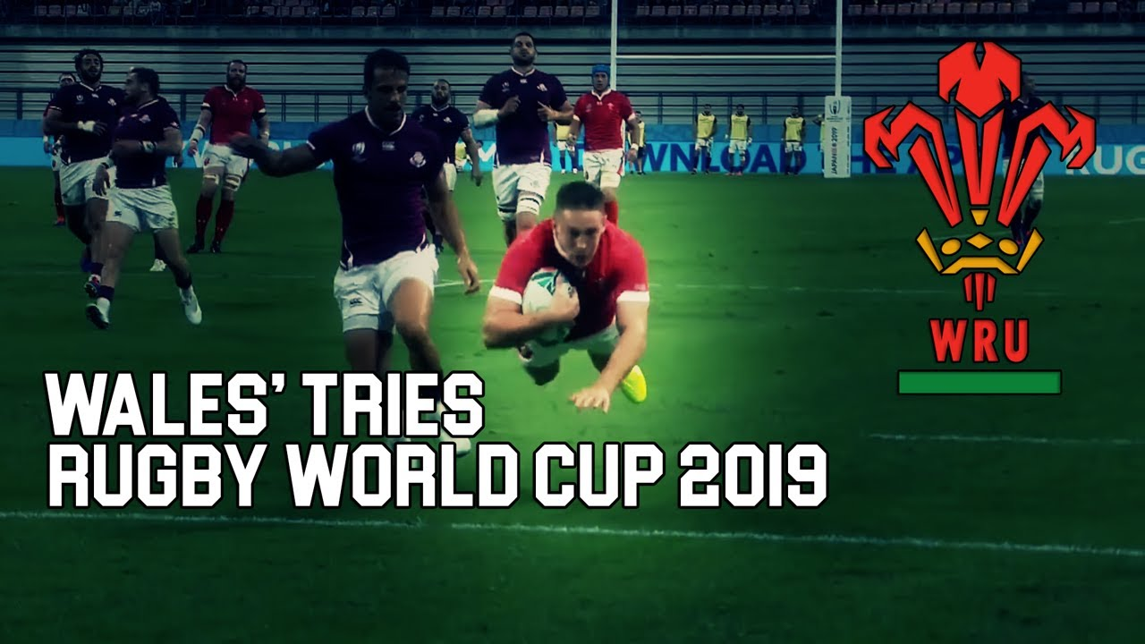 Wales Rugby World Cup 2019 All Tries - Welsh Rugby Tribute Highlights