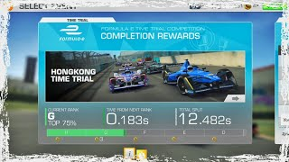 Formula E Time Trial Competition - Real Racing 3 !!