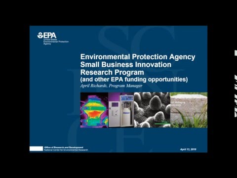 Succeeding at SBIR -  EPA April Richards