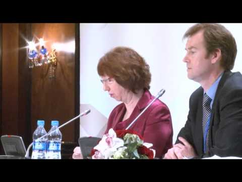 Press conference by EU HR Ashton following E3+3 negotiations with Iran