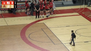VOLLEY F - McGill c. Rouge et Or - Demi-finale RSEQ Match #2