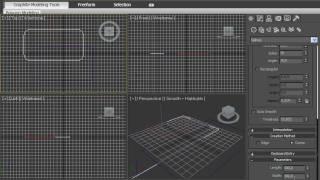 Сплайн прямоугольник в 3DsMax 2010 (19/42)