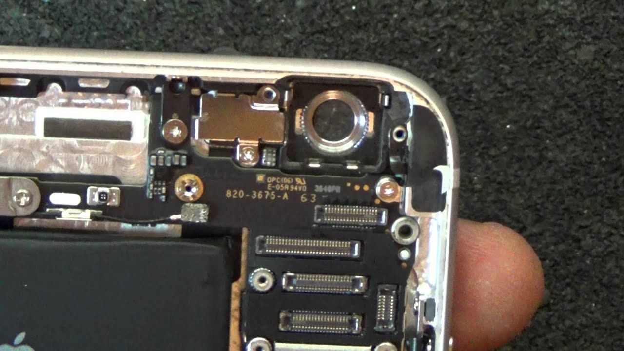Apple iPhone 6 Plus / не работает камера - YouTube