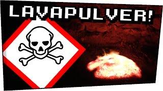 EXPERIMENT / LAVAPULVER XXL Versuch bei Nacht - Gefährliche Experimente #87