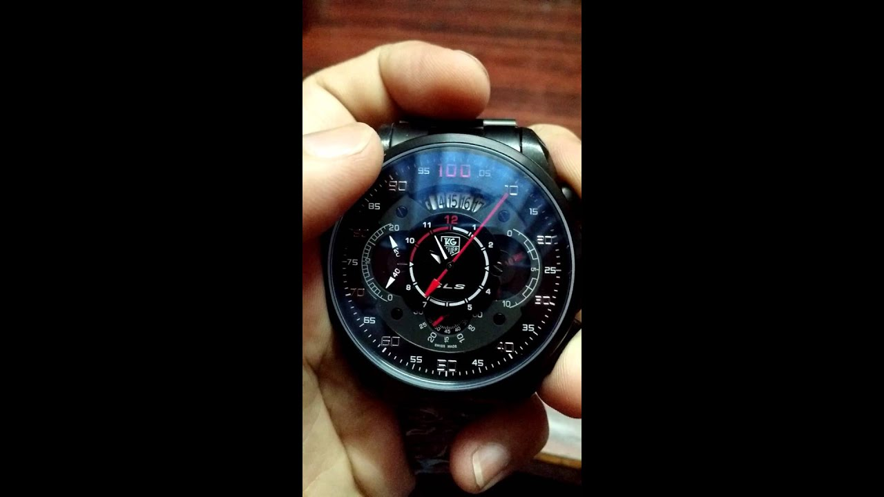 Tag heuer mercedes benz sls chronograph youtube for Mercedes benz tag