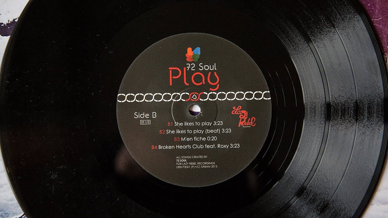 72 Soul She Likes To Play Beat Vinyl Youtube