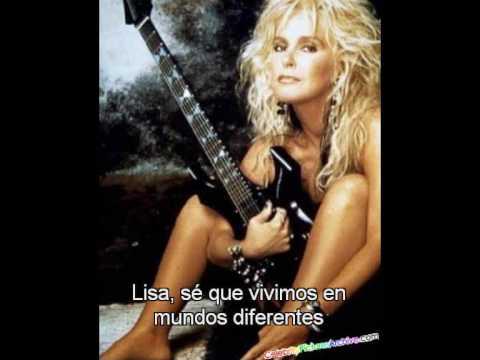 Lita Ford - Lisa (Subtitulos en Español)