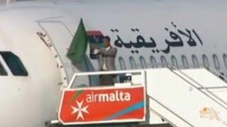 حادثة اختطاف طائرة ليبية تعد الأولى من نوعها