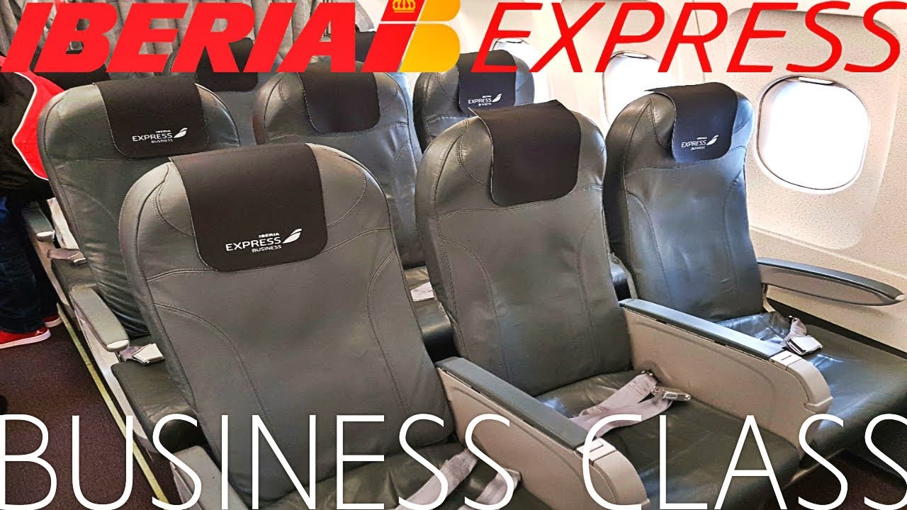 Iberia Express Business Class London To Madrid A320 Youtube