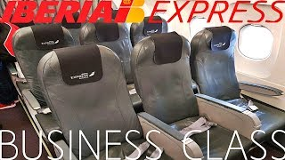 Iberia Express BUSINESS CLASS London to Madrid|A320