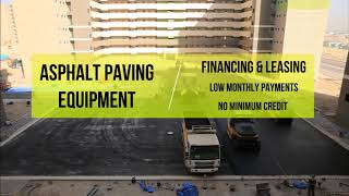 BFC® Asphalt & Concrete Equipment Financing Loans & Leasing for New & Used Equipment In The USA