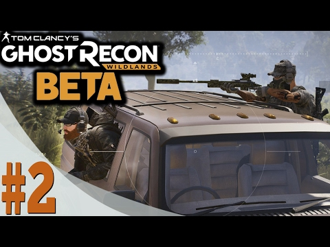 WE GOT SNIPERS! - SIDE MISSIONS - CO-OP GAMEPLAY - Ghost Recon Wildlands - Closed Beta - Ep. 2