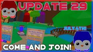 🔴 [ROBLOX LIVE] 🔴 | Bubble Gum Simulator | 🎆 jogando atualização 29 🎆 | JUNTE-SE A NÓS! #RoadTo800