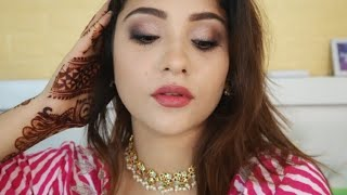 MY EID DAY 2 makeup || soft glam step by step|| shystyles