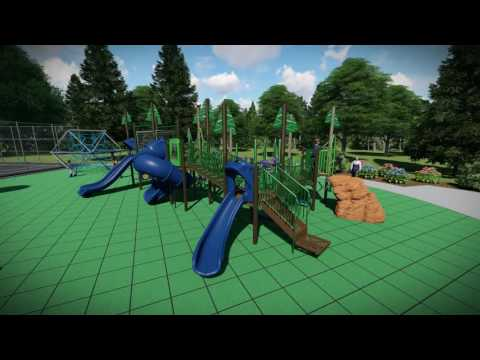 An animation of the Sitka Community Playground project