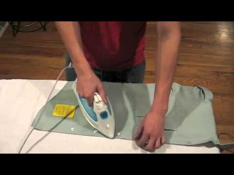 How to Wash and Iron the Uniform. Part 1
