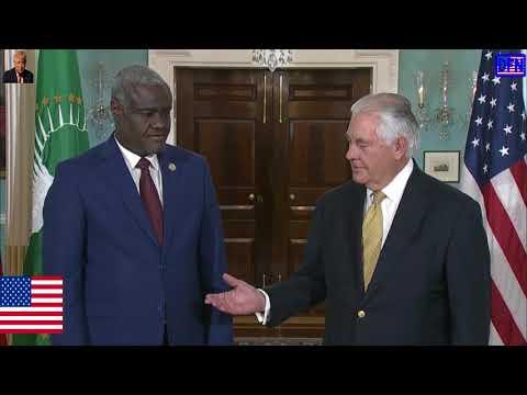 NEWS ALERT TODAY - 11.16.17, U.S. Secretary Tillerson Meets With Moussa Faki, Chairperson - AUC