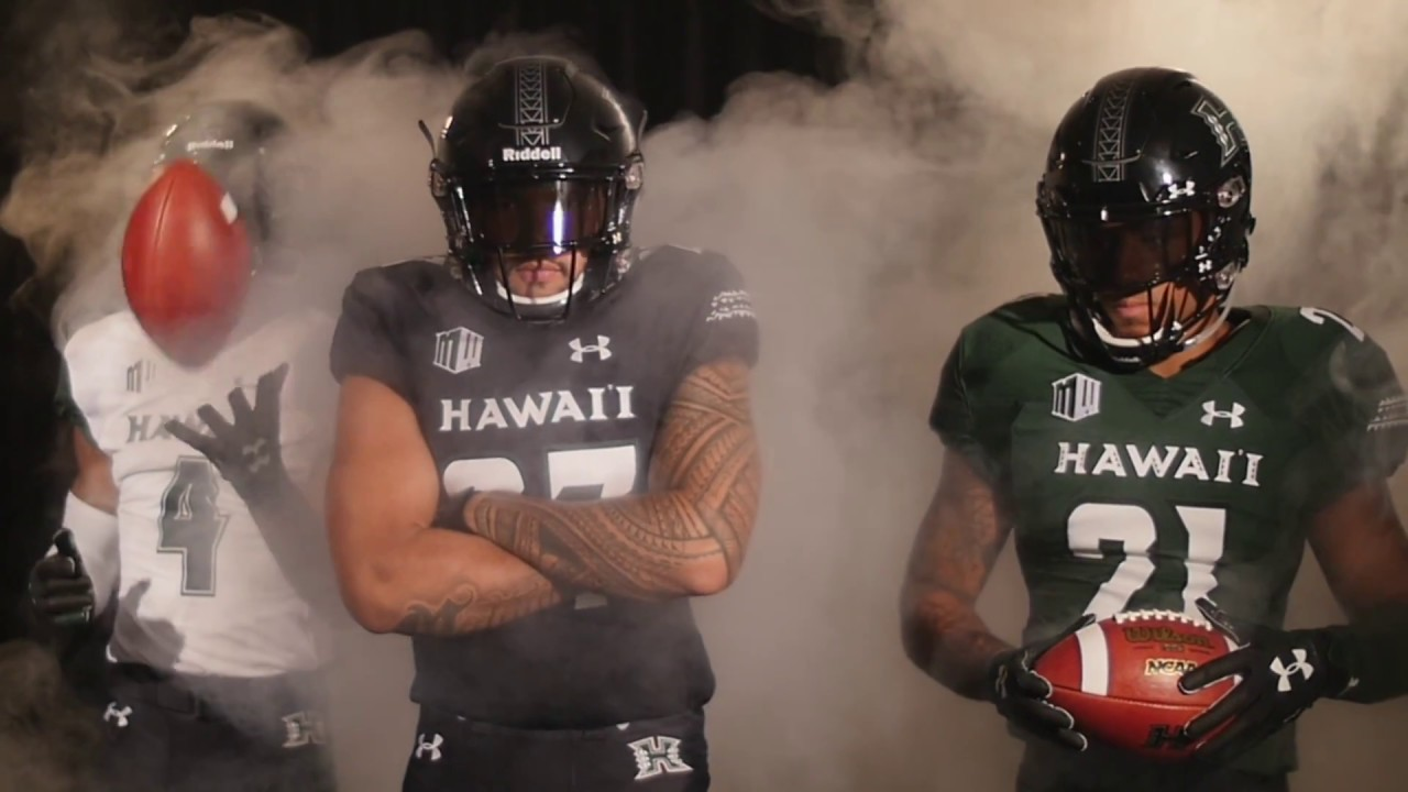 online retailer ec317 9aec9 Hawaii Football New Uniform Reveal