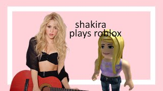i met shakira on roblox (roblox anarchy montage)