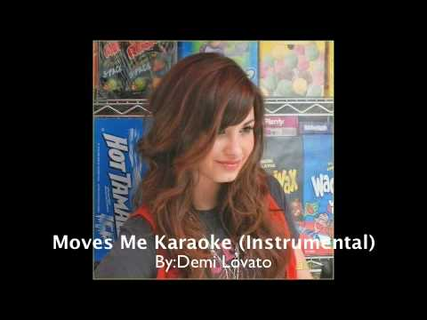 Demi Lovato - Moves Me Karaoke (Instrumental)