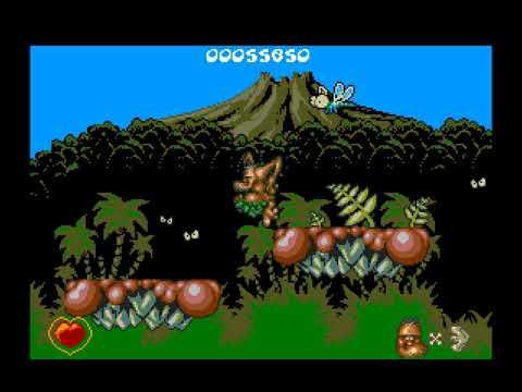 Chuck Rock Longplay (Amiga) [50 FPS]